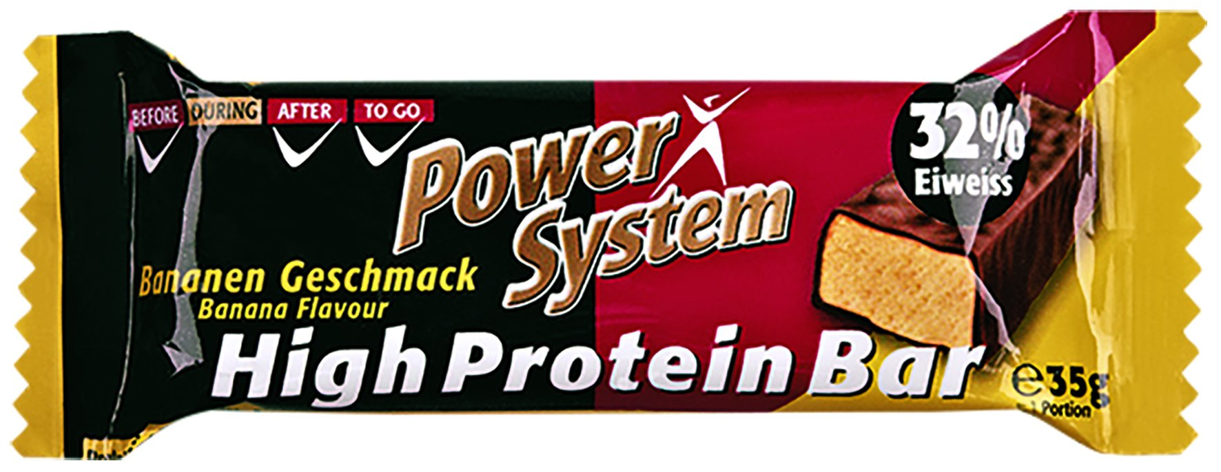 Power System High Protein Bar 32% Banana 35g