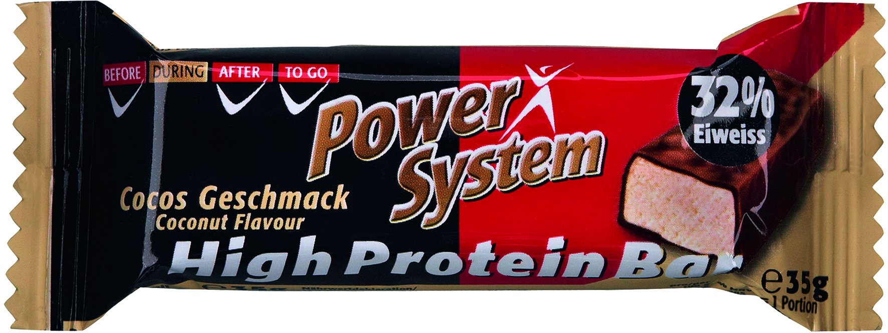 Power System High Protein Bar 32% Cocos 35g