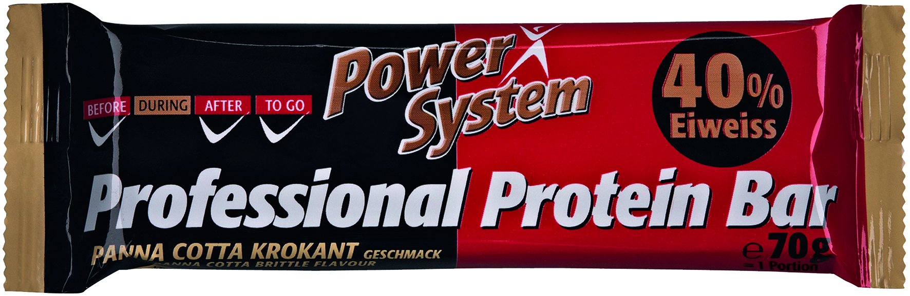 Power System Professional Protein Bar 40% Panna-Cotta Brittle 70g